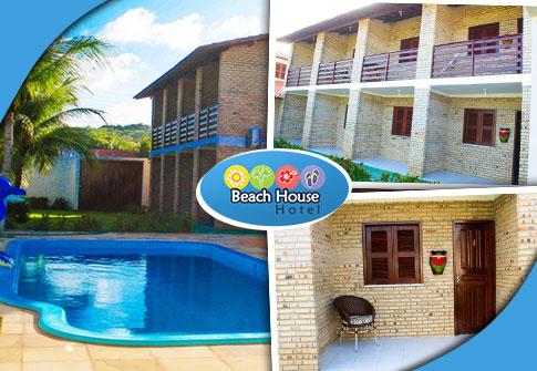 02 diárias para casal + café da manhã + criança de até 6 anos grátis, no excelente Beach House
