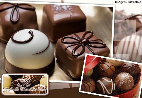 100 Chocolates na Rafaela Chocolates Finos.