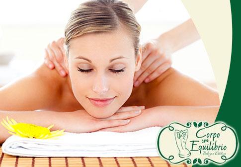 Massagem Relaxante Corporal (somente para mulheres) na Corpo em Equilíbrio