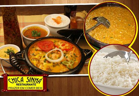 Peixada Brasileria no Chica Sinha Restaurante