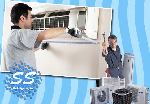 Manutenção Preventiva + Higienização de Ar Condicionado na SS Refrigeração