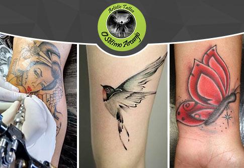 Qualquer Tatuagem Tamanho 6x6cm OU Crédito de R$ 120,00 por R$ 50,00