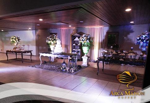 Festa para 50 convidados no Arca Maison Buffet