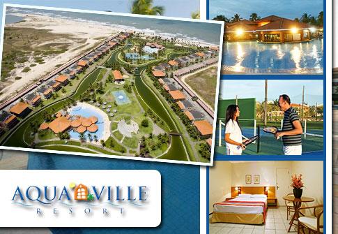 02 Diárias para Casal no Aquaville Resort