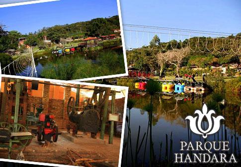 Parque Handara: Entrada + Visitação e Degustação no Museu do Engenho + Acesso aos Brinquedos