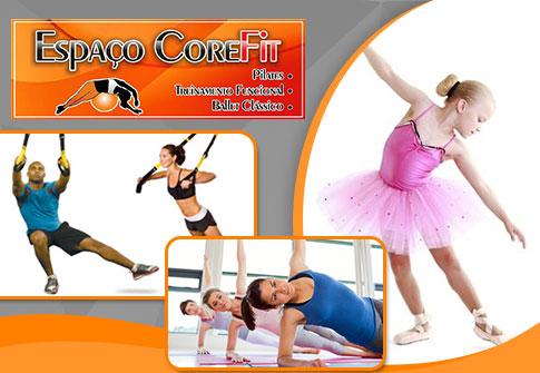 Espaço CoreFit: Pilates ou Treinamento Funcional ou Ballet