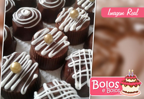 Bolos e Bolos: 100 chocolates crocantes e decorados
